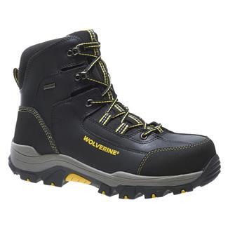"""Wolverine 6"""" Bucklin Peakflex Hiker CT WP Black"""