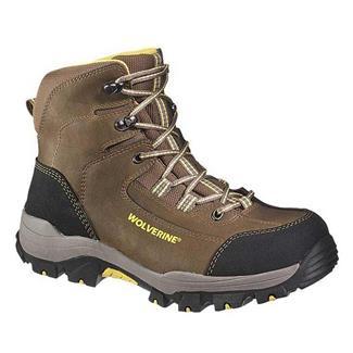 "Wolverine 6"" Bucklin Peakflex Hiker CT WP Taupe"