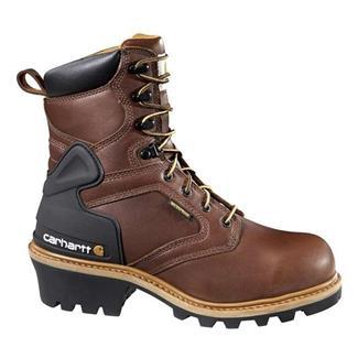 "Carhartt 8"" Logger ST WP - Vibram Bison Brown"