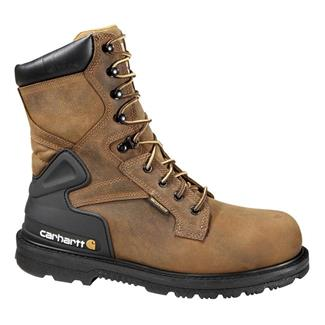 "Carhartt 8"" Work ST WP Bison Brown"