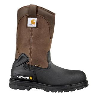 "Carhartt 11"" Mud Wellington 400G ST WP Brown / Black"