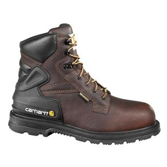 "Carhartt 6"" Work 400G ST WP Brown Pebble"
