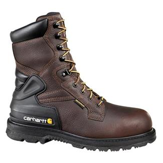 "Carhartt 8"" Work 400G ST WP Brown Pebble"
