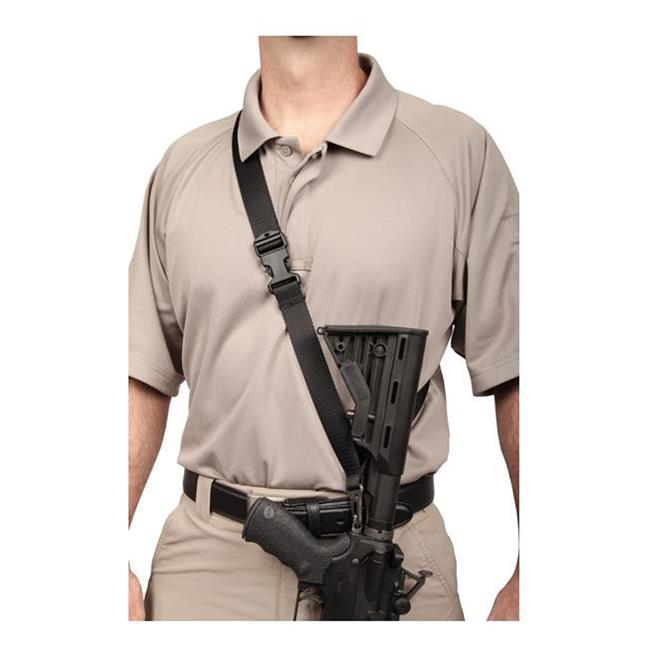 Blackhawk Sportster Single-Point Sling with Nylon Mount Black