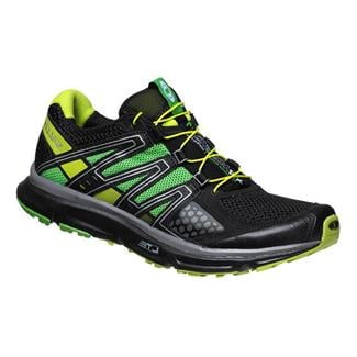 Salomon XR Mission Black / Autobahn / Pop Green
