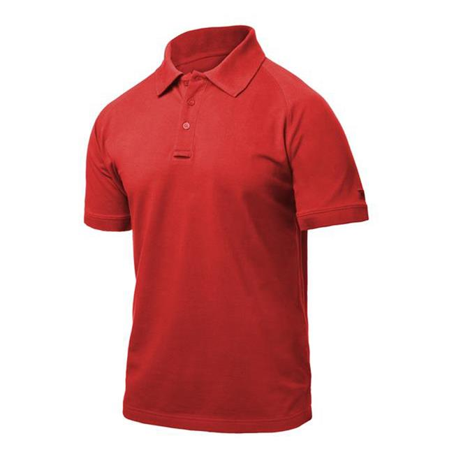 Blackhawk Warrior Wear Cotton Polos Range Red