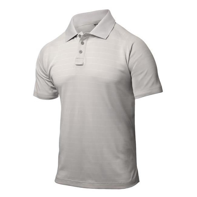 Blackhawk Warrior Wear Performance Polos Gray Stripe