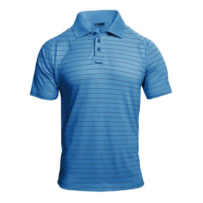 Blackhawk Warrior Wear Performance Polos Royal Blue