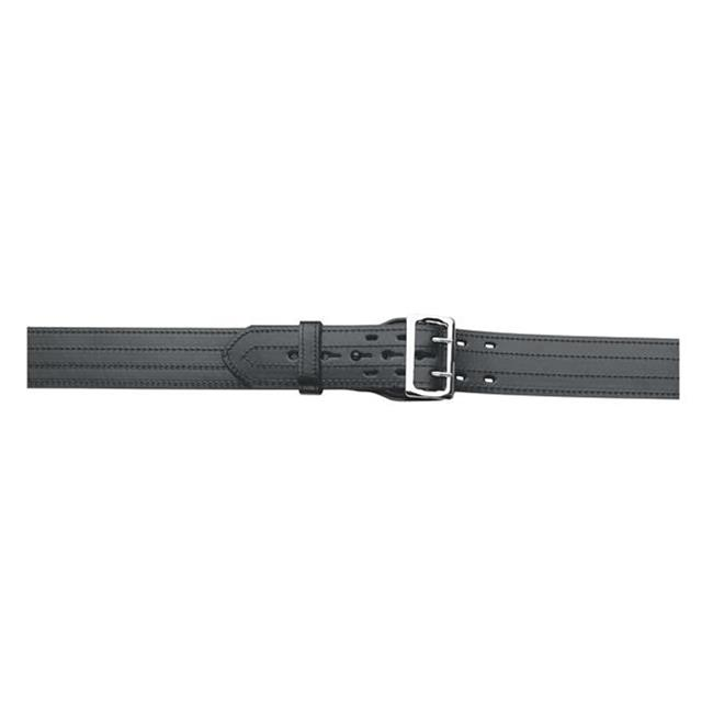 Gould & Goodrich Lined 4-Row Stitched Duty Belt Black