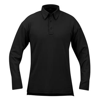 Propper Long Sleeve ICE Performance Polos Black