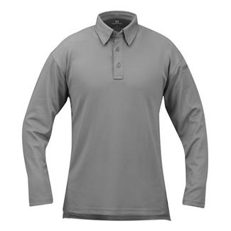 Propper Long Sleeve ICE Performance Polos Gray