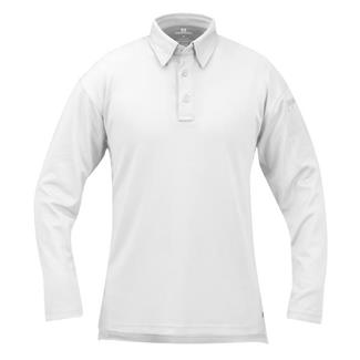 Propper Long Sleeve ICE Performance Polos White