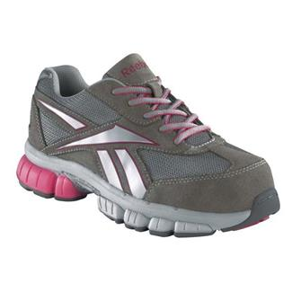Reebok Ketia CT Light Gray with Silver / Pink Trim