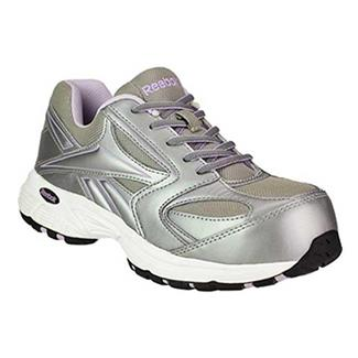 Reebok Ateron CT Gray with Silver / Purple Trim