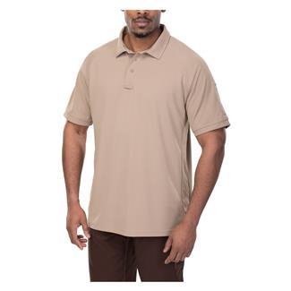 Vertx Coldblack Short Sleeve Polo Tan