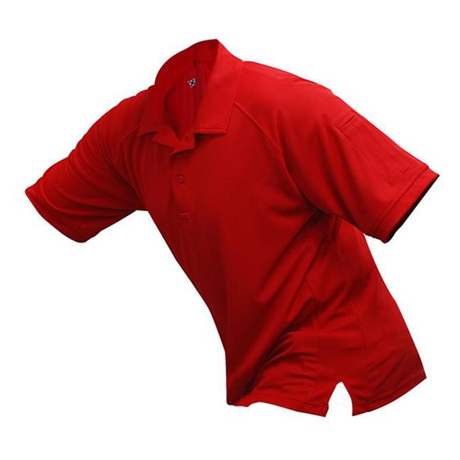 Vertx Coldblack Short Sleeve Polo Red