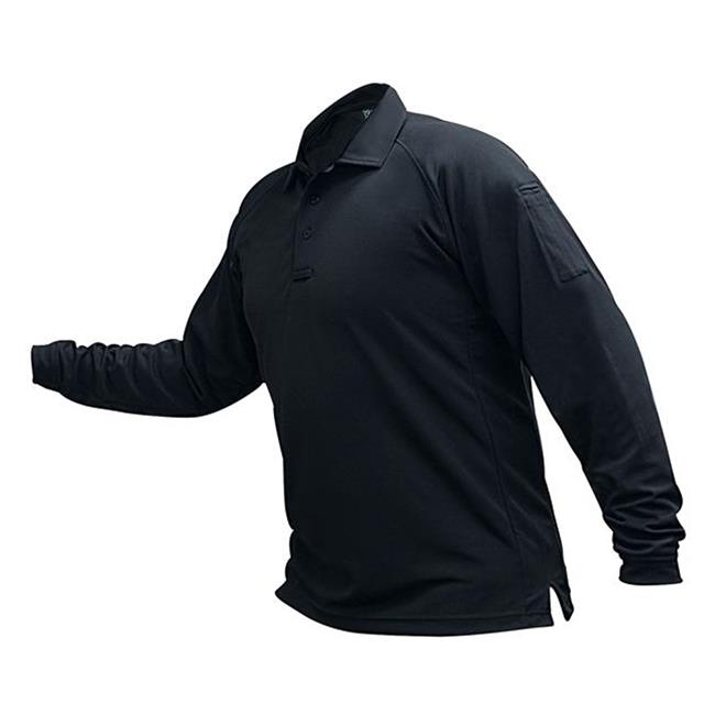 Vertx Coldblack Long Sleeve Polo Navy