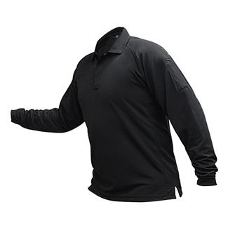 Vertx Coldblack Long Sleeve Polo Black