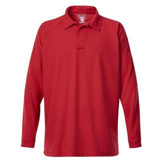 Vertx Coldblack Long Sleeve Polo Red
