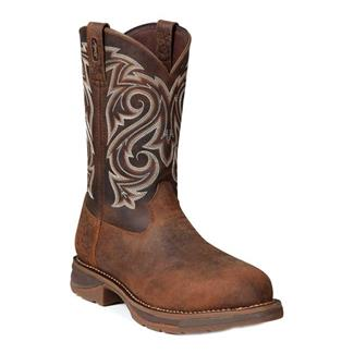 "Durango 11"" Workin' Rebel Round Toe CT Nicotine / Chocolate"