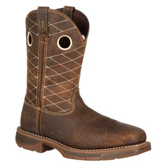 Durango Workin' Rebel Square Toe CT Nicotine / Chocolate