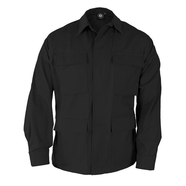 Genuine Gear Poly / Cotton Twill BDU Coats Black