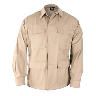 Genuine Gear Poly / Cotton Twill BDU Coats Khaki