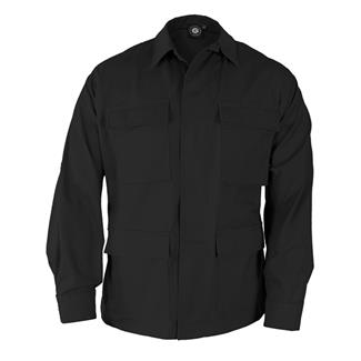 Genuine Gear Poly / Cotton Ripstop BDU Coats Black