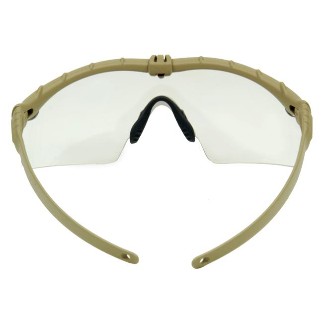 Oakley SI Ballistic M Frame 3.0 Dark Bone Clear