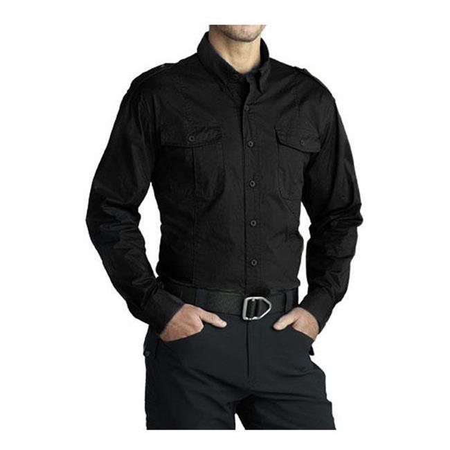 Massif Snake River Field Shirt Black