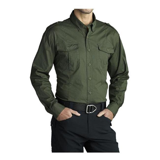 Massif Snake River Field Shirt OD Green