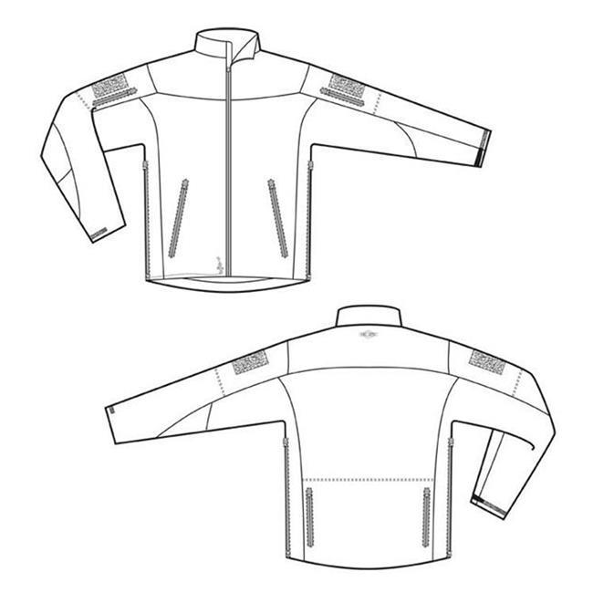 24-7 Series Tactical Softshell Jackets Black