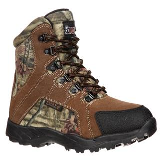 Kids' Rocky Hunter 800G WP Brown / Mossy Oak Infinity