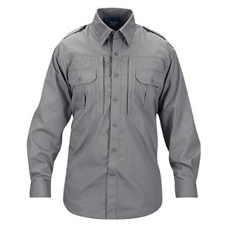 Propper Lightweight Long Sleeve Tactical Dress Shirts Gray