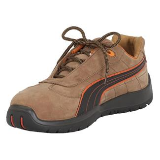 Puma Safety Indy Low ST Brown