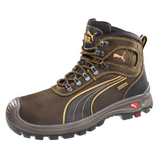 Puma Safety Sierra Nevada Mid CT WP Brown