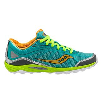 Saucony Kinvara TR Green / Orange / Citron