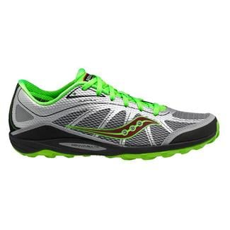 Saucony Kinvara TR Silver / Green / Red