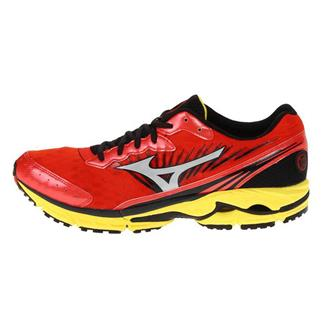 Mizuno Wave Rider 16 Orange.com / Silver