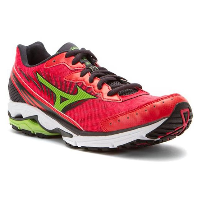 Mizuno Wave Rider 16 Rouge Red / Apple Green