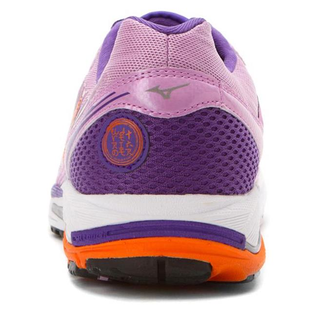 Mizuno Wave Rider 16 Violet Tulle / Vibrant Orange