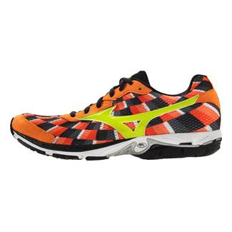 Mizuno Wave Elixir 8 Vibrant Orange / Lime Punch