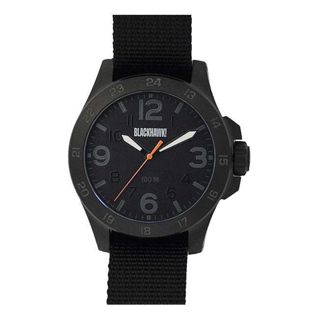 Blackhawk Field Operator Watch Black / Orange / Gray