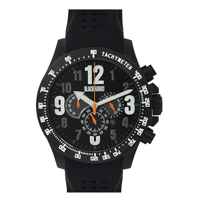 Blackhawk Race Operator Watch Gray / Orange / Luminous