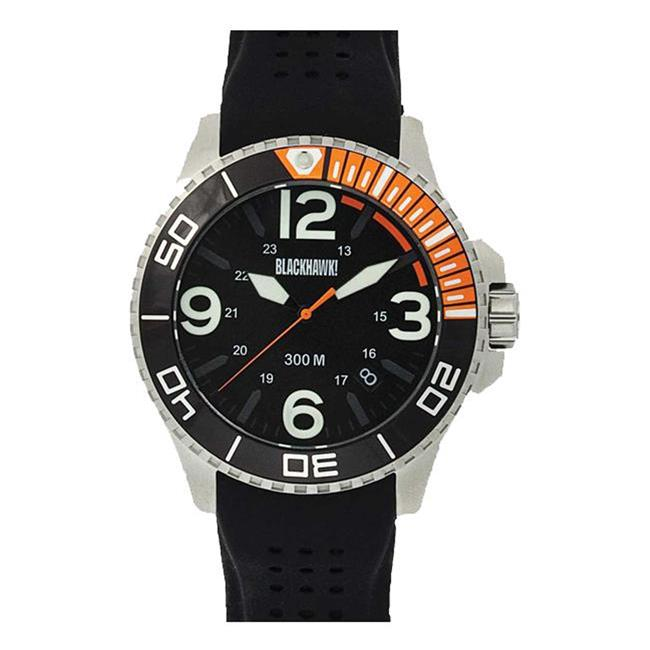 Blackhawk Deep Sea Operator Watch Stainless / Orange / Luminous