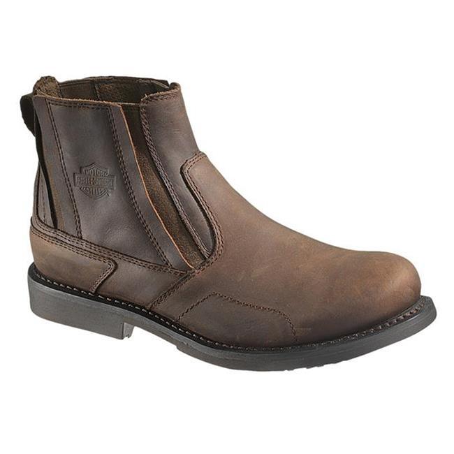 "Harley Davidson Footwear 5"" Cobine Brown"