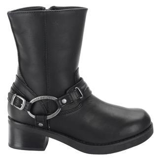 "Harley Davidson Footwear 8"" Christa SZ Black"