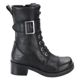 """Harley Davidson Footwear 8"""" Jammie SZ Black"""