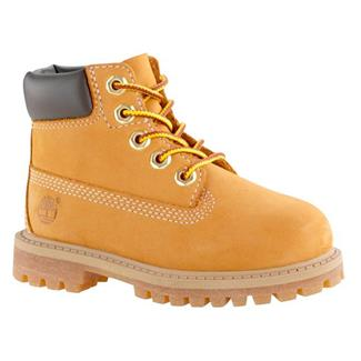 "Kids' Timberland Junior 6"" Classic WP Wheat Nubuck"