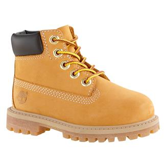 "Kids' Timberland Toddler 6"" Classic WP Wheat Nubuck"